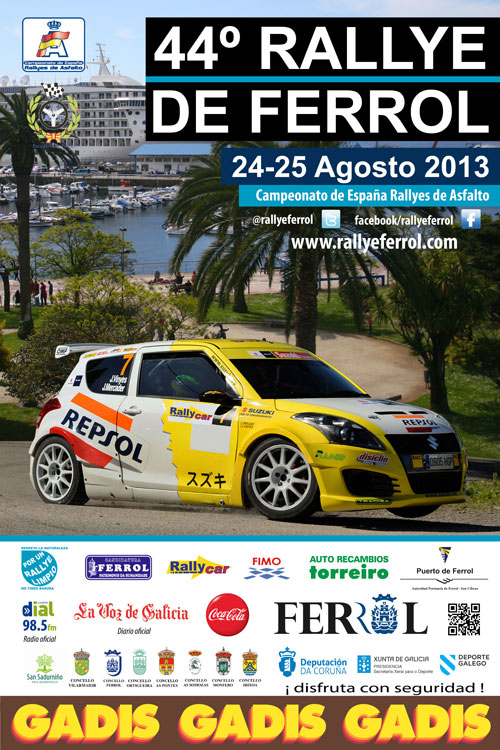 cartel-44rallyeferrol