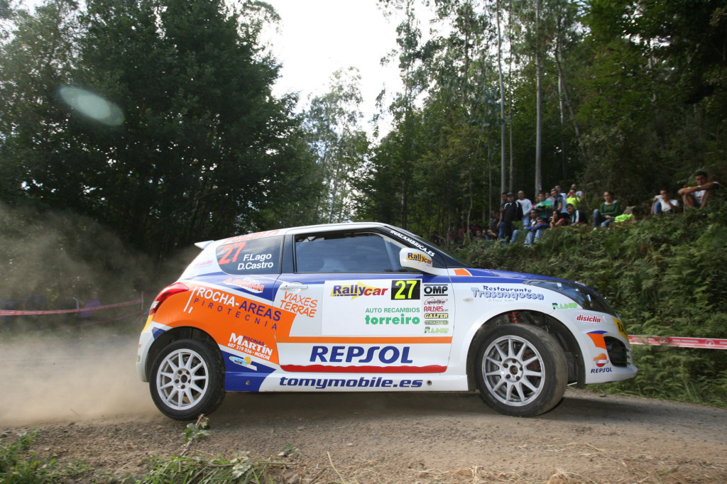 Fran Lago lidera la Copa Suzuki Swift