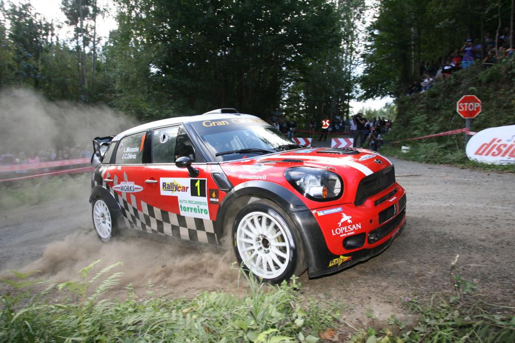 Luis Monzón vencedor final del 44 Rallye de Ferrol