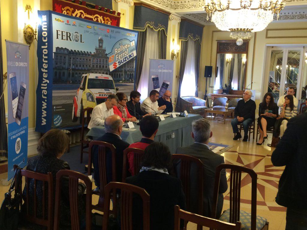 Presentación 47 Rallye de Ferrol