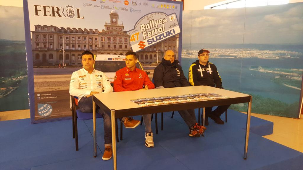 De izquierda a derecha: Iván Ares, Cristian García, Pedro Burgo y Adrián Díaz