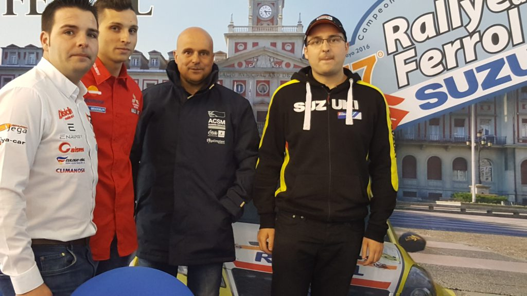 Rueda de prensa previa. Ares, García, Burgo y Díaz