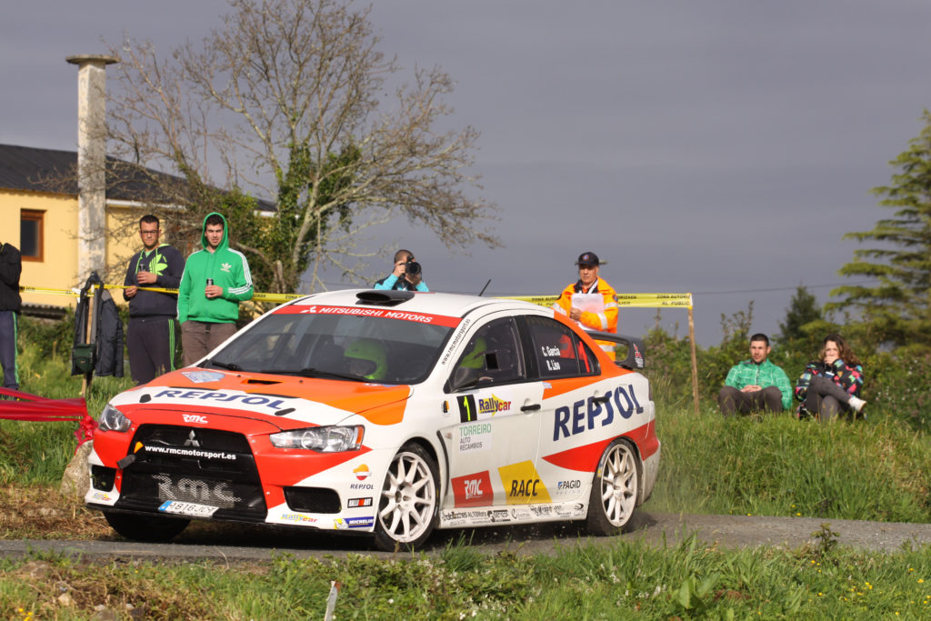 Cristian García y su Mitsubishi EVO X