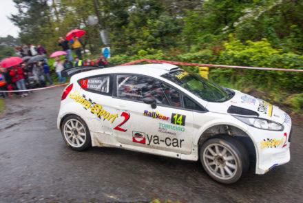 Víctor Senra y su Ford Fiesta R5